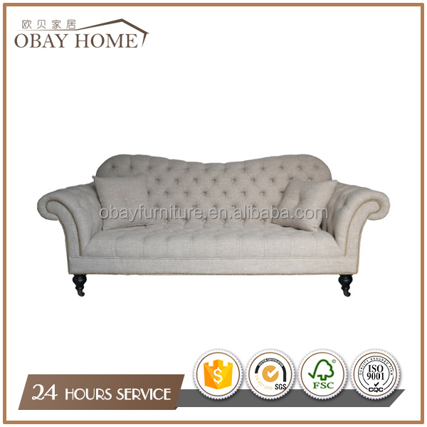 Factory Direct Sales Sofa Antique Furniture Wholesale Fabric Button Tufted  Sofa, View Button Tufted Sofa, OBAY Product Details from Jiande Obay Home  Deco ... - Factory Direct Sales Sofa Antique Furniture Wholesale Fabric Button