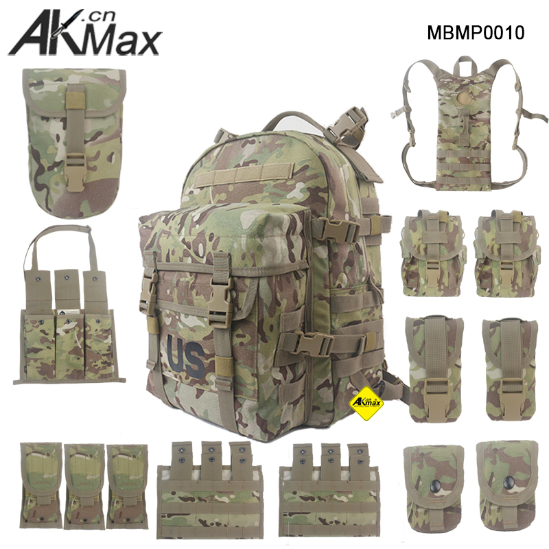 MOLLE Second-generation military Backpack Tactical Pack Cordura