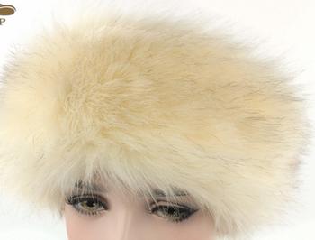 Womens Warm Fashion Real Fox Fur Looking Faux Fur Headband - Buy Women Faux  Fur Headband 57bb8e7723d