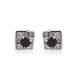 507cb87a0 26006 XUPING square stud korea earring wholesale,black stone white gold  earrings samples