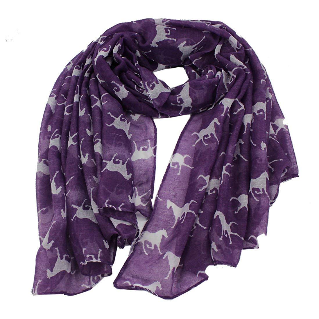 Cream baby Owl Print Scarf Shawl Stole Wrap Hijab 100/% Viscose