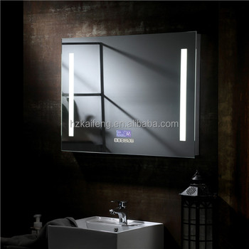Led Surround Lighted Wall Mount Vanity Mirror With Touch Sensor Switch Lights Antifogging Bathroom
