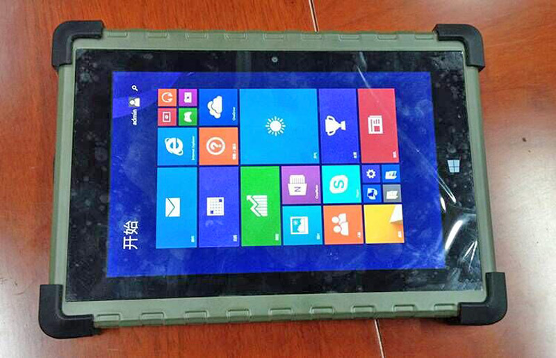 8 Inch Waterproof Rugged Windows Tablet PC, Rugged Windows Tablets With  RS232 Serial Port NFC