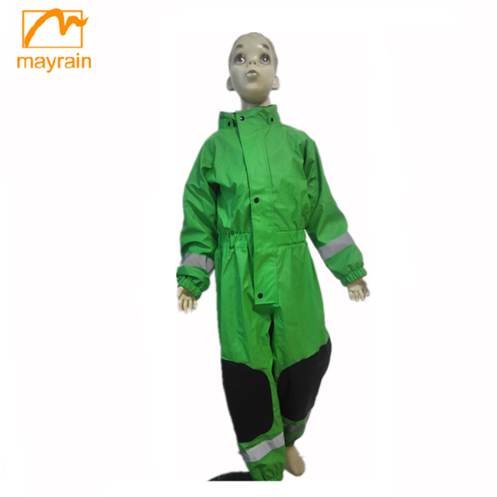 309a1281c 2017 Children Clothing Comfortable Rain Jackets One Piece Rain Suit ...