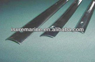 Stainless steel Boat Mooring Line Hollow Back Rub Rail
