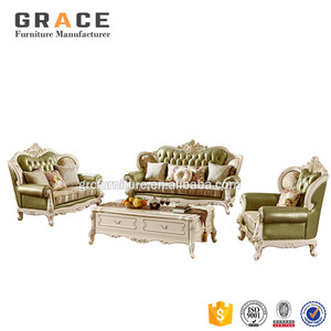 H929W nordic office sofa set industried victoria ancient genuine leather furniture