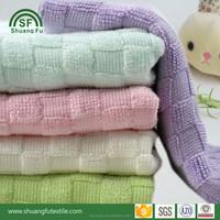 100% bamboo fiber organic hand waffle towels 30*50 cm 450gsm
