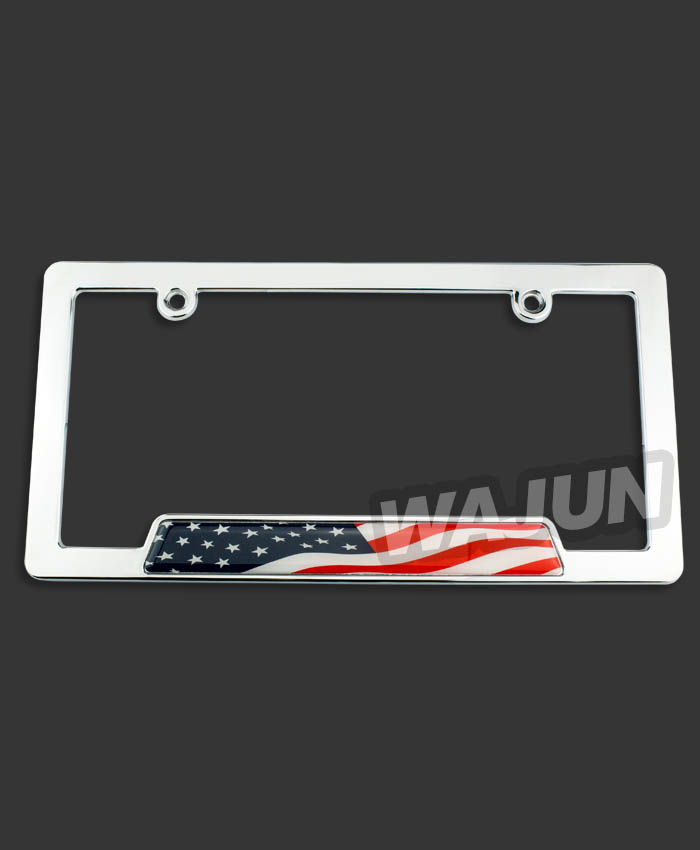 custom car front and back license plates frames/personalized front license plates