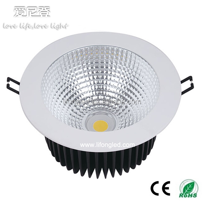 30w Led Downlight 6 Inch Cob Led Down Light With Ce And Rohs