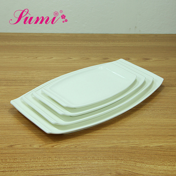 Most popular restaurant ceramic plain white plate hotel used dinner plate set white & Most Popular Restaurant Ceramic Plain White PlateHotel Used Dinner ...