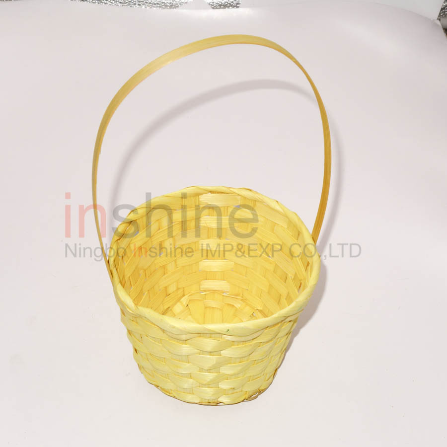 IN53557 Wholesale Easter Hunter Bamboo Basket , Mini Bamboo Basket