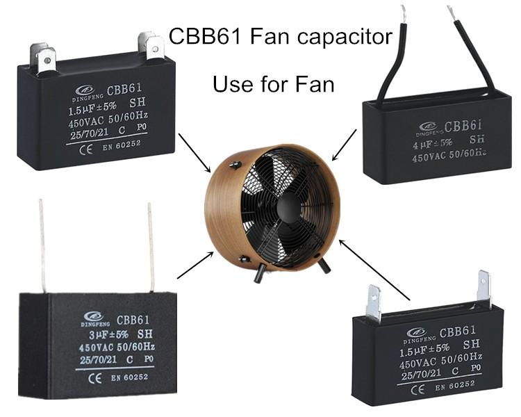 1uf 500v Capacitor Cp Wire X2 Capacitor 275v