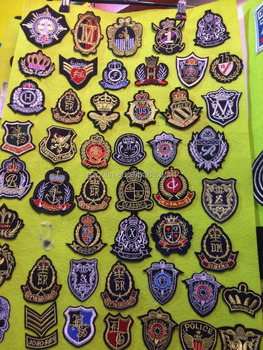 Embroidered patches beautiful design Embroidered type patches fashion girls Embroidered patches
