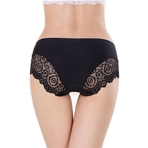 40414 Colorful ladies briefs seamless panty women lace panties for wholesale