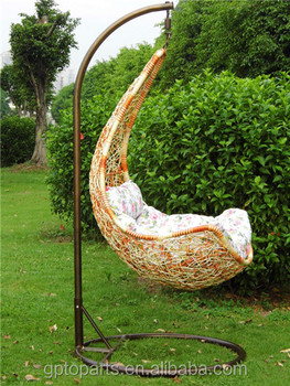 Whole Rattan Furniture Egg Chair Hanging Without Stand Swing Garden