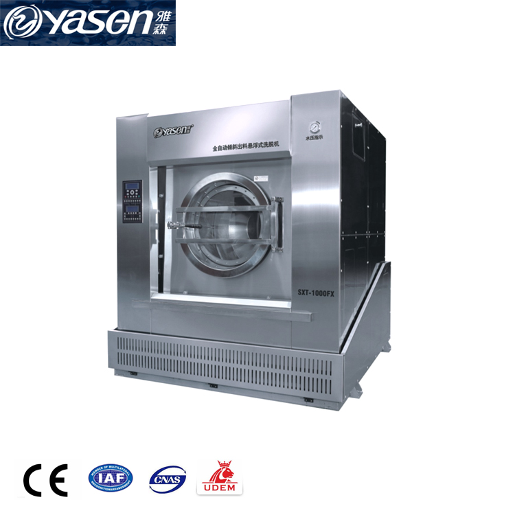 Residue Free cleaning professional 100kg washing machine