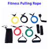 11 Pcs/Set Resistance Workout Pilates Yoga Crossfit Fitness Tubes Pull Rope Exercise
