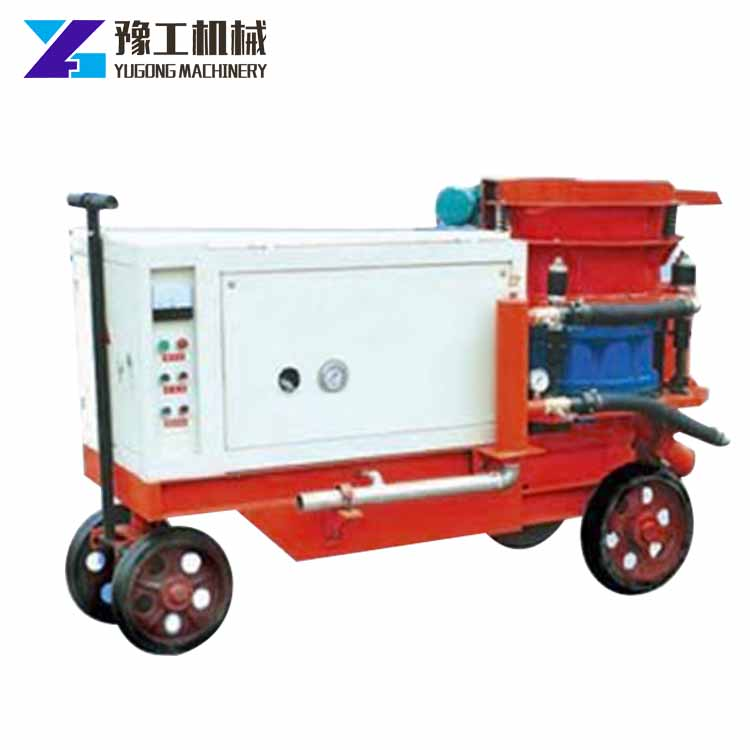 Shotcrete pump concrete spraying machine paint price in india automatic powder coating