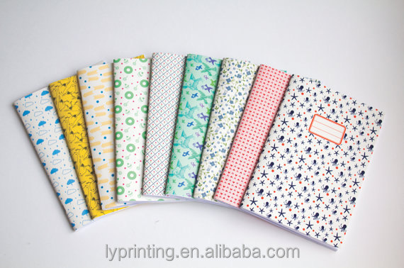 Wholesale Custom Coloring Mini School NoteBook