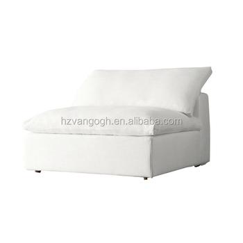 Elegant Design French Style Living Room Loveseats Linen Fabric Wood Tufted  Sofa White Wedding Sectional Sofa Parts Cloud Sofa - Buy White Wedding ...