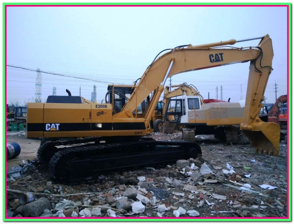 Kucing E200b Jepang Menggunakan Excavator Bangladesh Alat Berat Pemasok  Baru Excavator Harga Digunakan Excavator - Buy Jepang Menggunakan Excavator