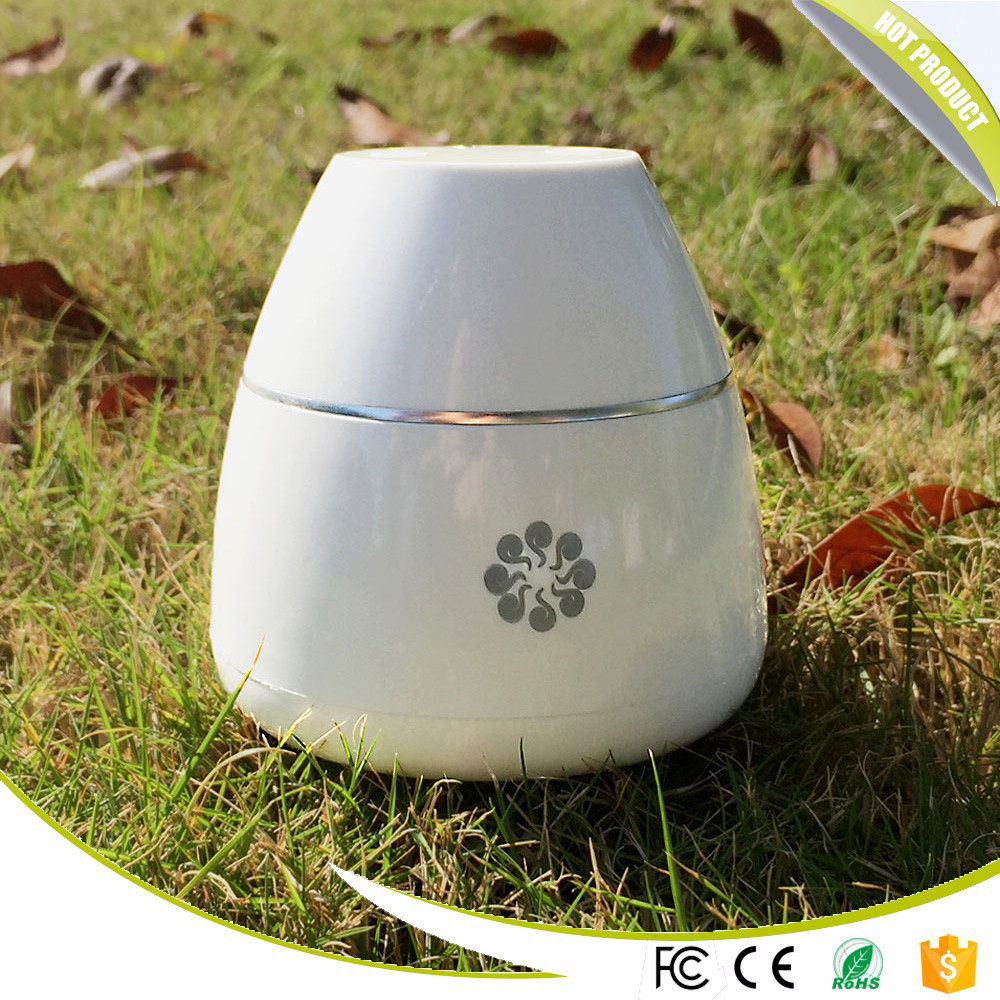 Popular Home Rechargeable Plastic car humidifier with aroma diffuser