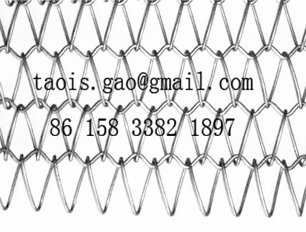 Factory Manufactured Spiral Winding Heat Resistant Wire Mesh