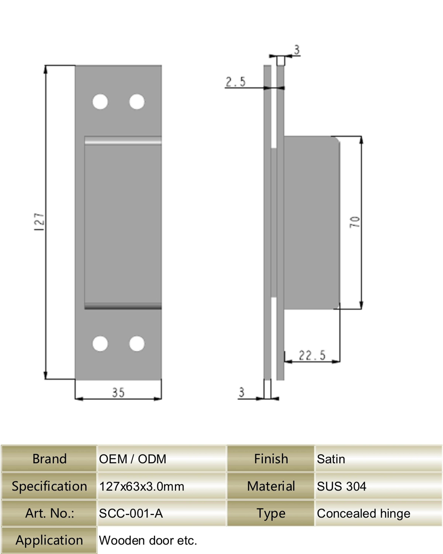 130 Degree In Stock Sus 304 Stainless Steel Ornamental Heavy Duty
