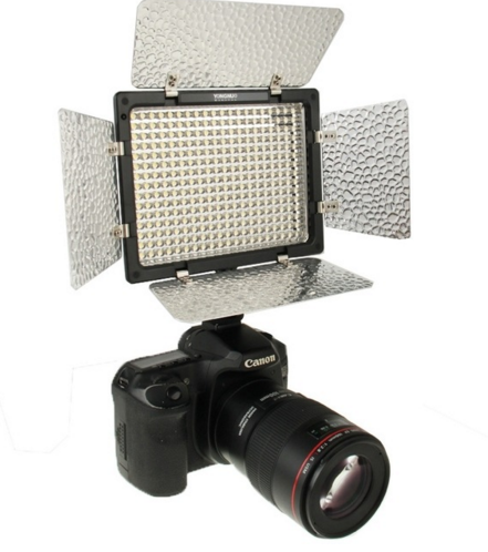 Bi-Color Yongnuo YN300 III YN-300 lIl 3200K-5500K Pro LED Video Light Studio Lights for Sony Canon Nikon Camera
