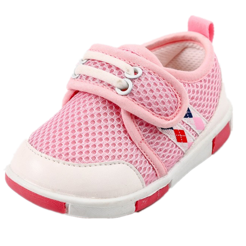 Mother & Kids First Walkers Heart-shaped Embroidered Cotton Soft Sole Shoes New Baby Girls Shoes With Elastic Band Dot Printing Baby Walking Shoes Complete In Specifications
