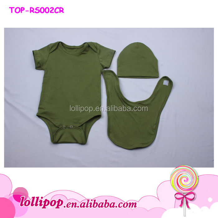 ab61d8a566c8 Red green Newborn Baby Christmas creeper Romper Clothes Set Match ...