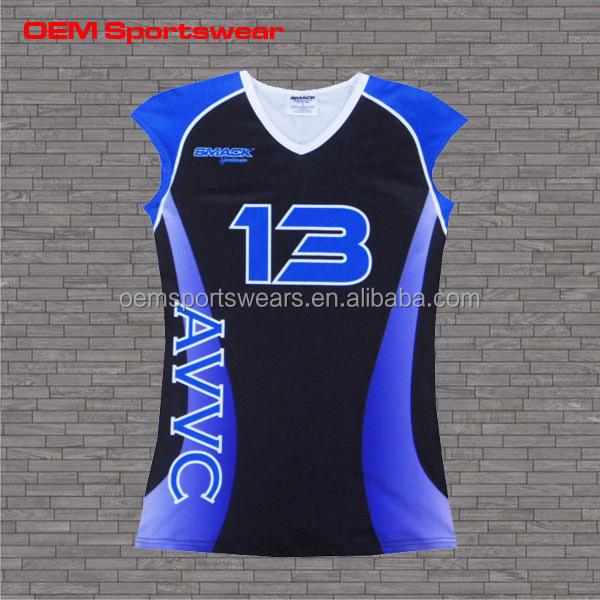 Melhor projeto impresso camisas personalizadas meninas uniforme de vôlei b81a77632c587