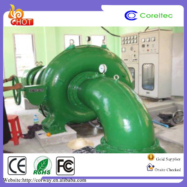 100Kw Pelton Turbine High Head Pelton Wheel Generator