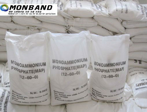 White Crystal Mono Ammonium Phosphate Fertilizer