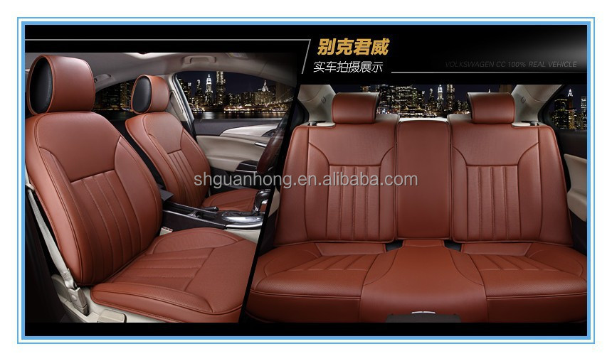 New Leather Car Seat Cushion China Computerized Red Quilting Car ...