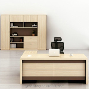 commercial furniture luxury wood executive office desk set