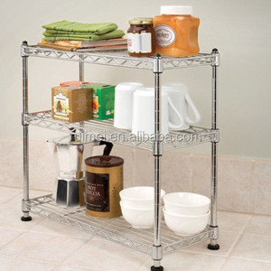 kitchen wire shelving 3 shelf storage rack
