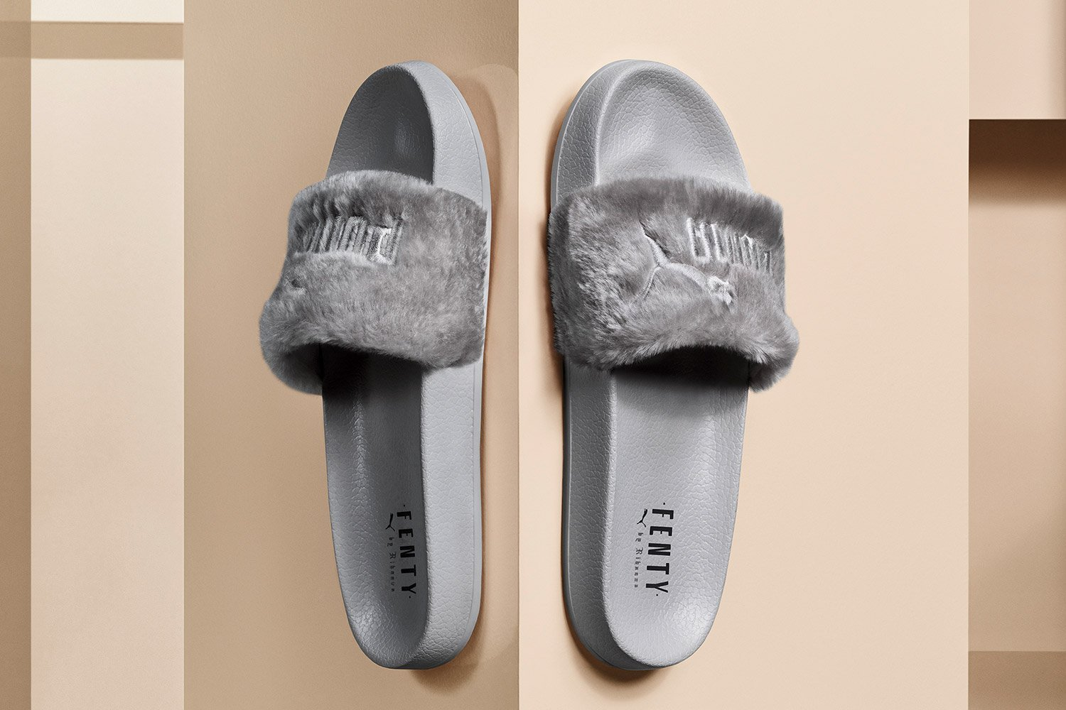 fad4687f1796 Buy FENTY PUMA by Rihanna Collection - Fur Slide in Cheap Price on ...