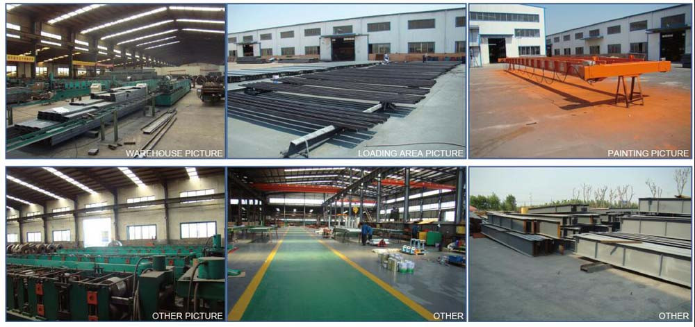 High Quality Prefab Steel Warehouse/Workshop
