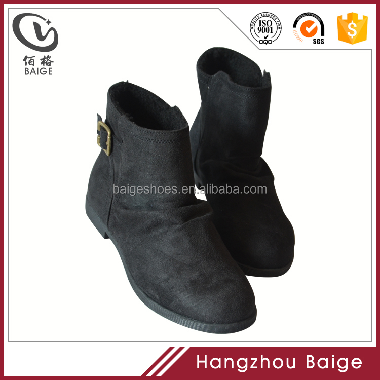 Latest fashion women ankle boots,ankle boots women shoes suede