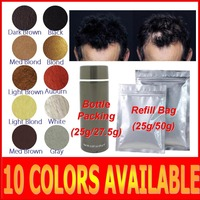 Factory price hair building fibers hair loss care treatment products for OEM