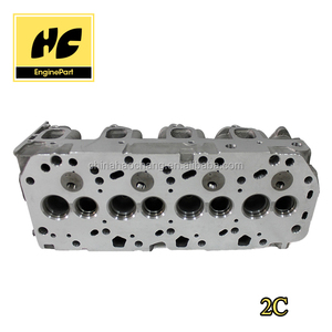 Engine cylinder head used for 2C/2C-TE