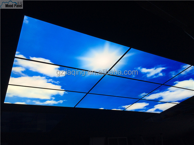 Bigger Size Creative Ceiling Panel Sky And Cloud Image Led