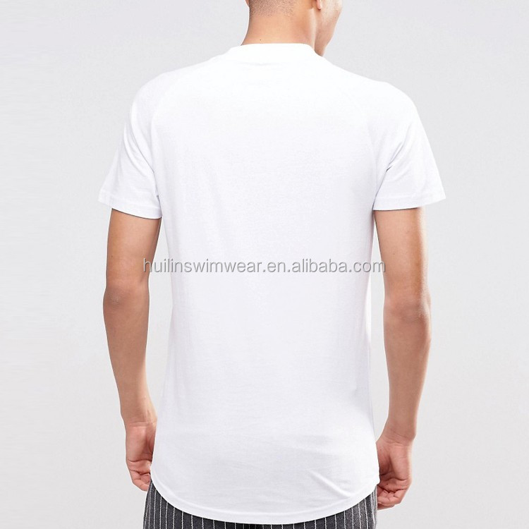 100 Cotton High Neck T Shirt For Men Wholesale Plain