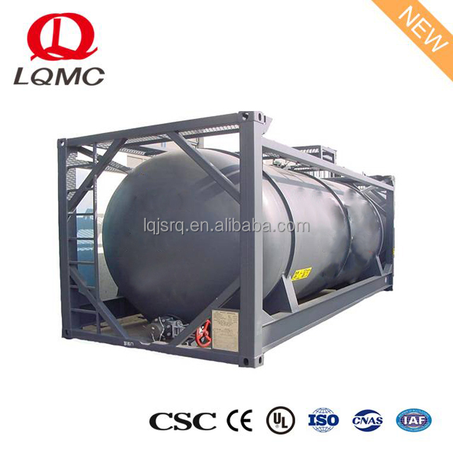 Transportation store oil iso diesel fuel skid tank containers price