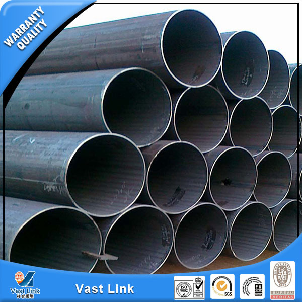Brand new bright or black weled steel pipe for furniture with high quality