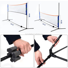 Portable Tennis Net Set with Carrying Bag and Accessories 420cm