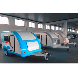 Limited Time Discount China supplier hot selling mini teardrop caravan camper with kitchen can cook food caravan camper trailer