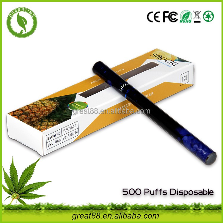 Greentime hot sell 280mah 500 puffs shisha pen cheap smoking pipes for sale with 10 different flavor