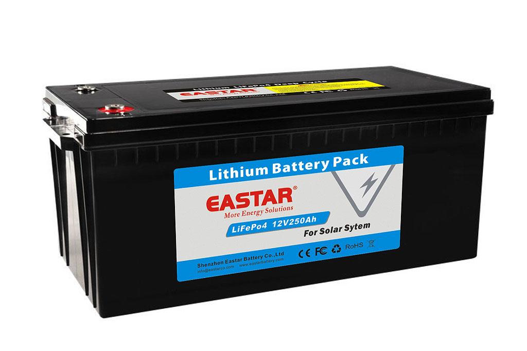 Harga Pabrik 24 V 100AH/150AH/200AH/250AH/300AH/500AH/700AH LiFePO4 Baterai Lithium baterai untuk Tenaga Surya atau Mobil Listrik 3000